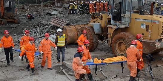 Al menos 67 muertos por derrumbe de obras en central eléctrica china