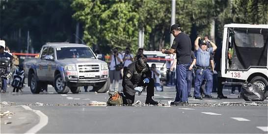 Frustran atentado en la embajada de Estados Unidos en Filipinas
