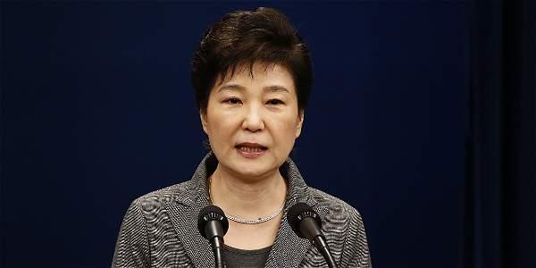 Park Geun-hye, presidenta de Corea del Sur. Efe