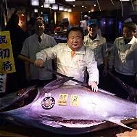 Pagan cerca de 1.900 millones de pesos por un atún en Tokio