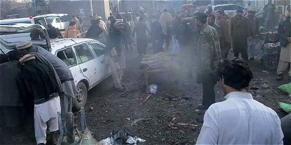 Una explosión en un mercado en Pakistán deja 20 personas muertas