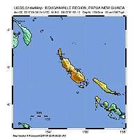 Levantan alerta de tsunami por terremoto de 8 grados en Nueva Guinea
