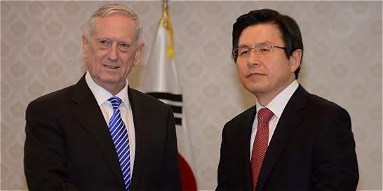 La amenaza norcoreana fortalece la alianza entre Washington y Seúl