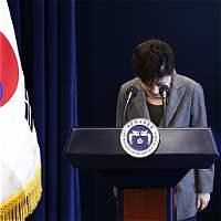 Por vínculos con corrupción fue destituida presidenta de Corea del Sur