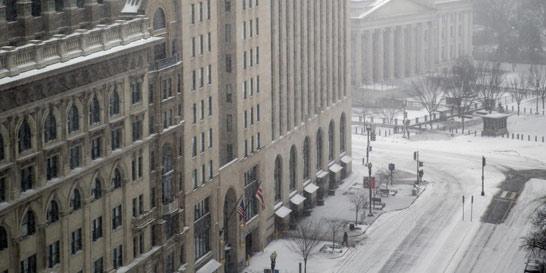 Nueva tormenta de nieve azota el este de EE. UU.