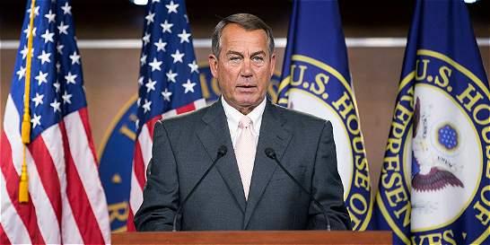 Boehner inicia trámites de demanda contra Obama por abuso de autoridad