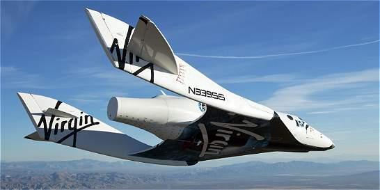 Se estrella nave espacial de Virgin Galactic
