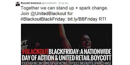 Celebridades piden 'no gastar ni un centavo' en el 'viernes negro'
