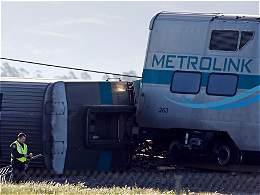 Al menos 30 heridos por el descarrilamiento de un  tren en California