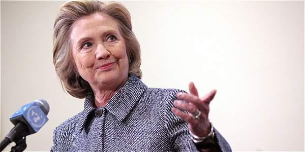 Hillary Clinton, exsecretaria de Estado de Estados Unidos.