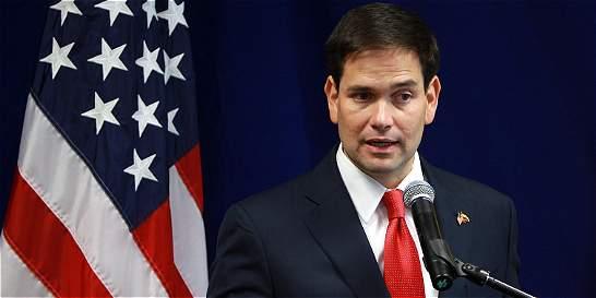 El precandidato Marco Rubio calificó de 'rídiculo' el matrimonio gay