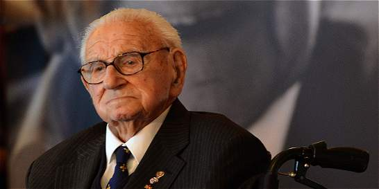 Adiós a Nicholas Winton, británico que salvó a niños judíos de nazis