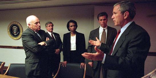 Revelan imágenes de crisis que desató el 11-S dentro de la Casa Blanca