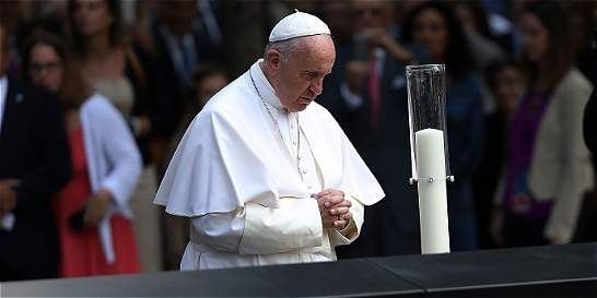 El papa Francisco, 'super star' en visita a Nueva York