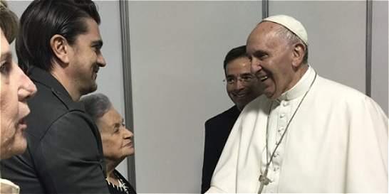 La velada de Juanes con el Papa y otros artistas en Filadelfia