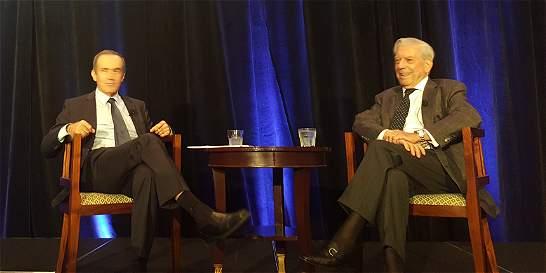 'Oponerse al proceso de paz sería una equivocación': Vargas Llosa