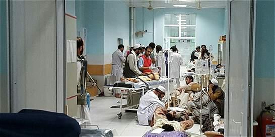 MSF elevó a 22 cifra de muertos por bombardeo contra hospital afgano