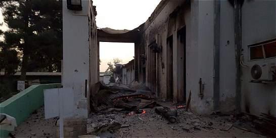 Fuerzas afganas pidieron ataque a hospital de Kunduz, dice EE. UU.