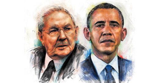 Obama y Castro, un cambio de cara al hemisferio