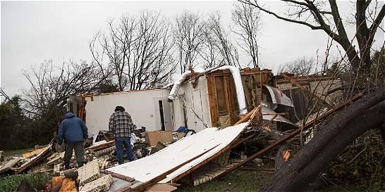 Ya son más de 40 los muertos por el mal clima en Estados Unidos