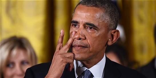 Barack Obama anunció medidas para el control de armas en EE. UU.