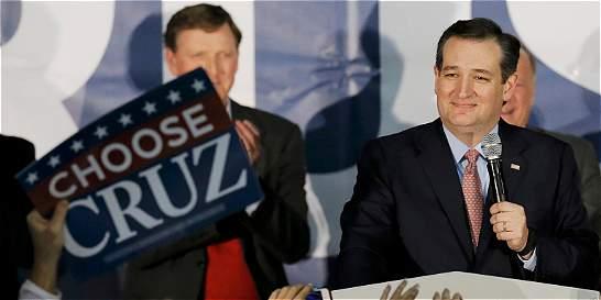 Cruz sorprende y gana caucus del partido Republicano a Donald Trump