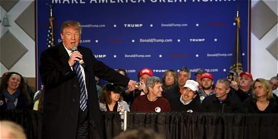 Tras la derrota en Iowa, Trump afronta las primarias de New Hampshire