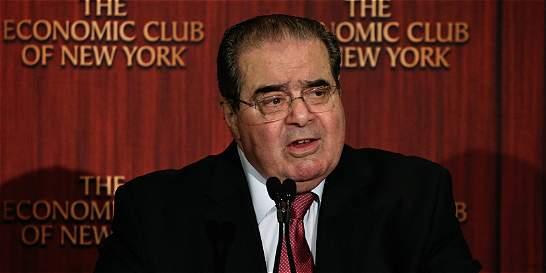 Muere Antonin Scalia, juez de la Corte Suprema de EE. UU.