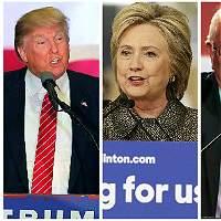 EUA: Encuestas empatan a Trump con Clinton