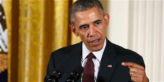 Presidente Barack Obama firma dura ley antinarcóticos