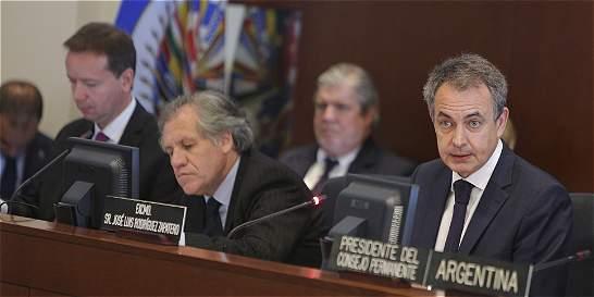 OEA concluye sin decisión sesión sobre Carta Democrática a Venezuela