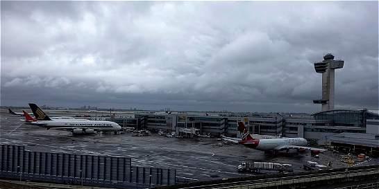 Falsa alarma por paquete sospechoso en Aeropuerto JFK de Nueva York