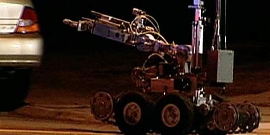 Así es el robot bomba que usó la Policía de Dallas en tiroteo