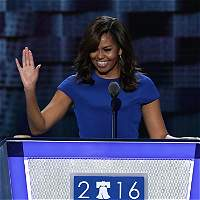 En conmovedor discurso, Michelle Obama apoyó a Hillary Clinton