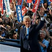 Bill Clinton retrata a la Hillary 'real' en otro día histórico