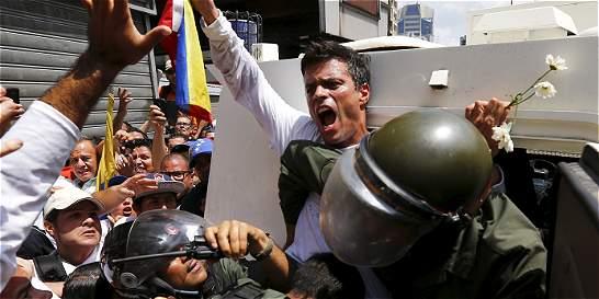 EE.UU. dice que les 'preocupa' condena contra Leopoldo López