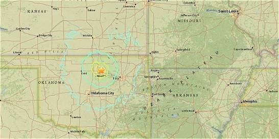 Varios edificios afectados tras terremoto de 5,6 en Oklahoma, EE.UU.