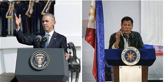 Obama no se reunirá con presidente de Filipinas por tensión bilateral
