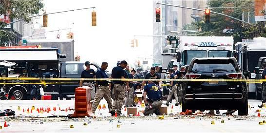 Nueva York, bajo protección policial tras explosión en Manhattan