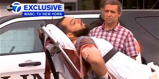 Acusado de ataques en Nueva York en estado 'crítico, pero estable'