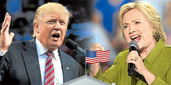 Trump vs. Clinton, el primer 'round' de los candidatos