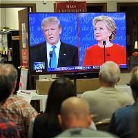 Las mejores frases del primer debate presidencial en EE.UU.