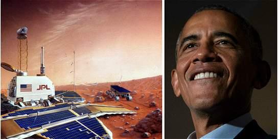 EE. UU. dará 'el gran salto' a Marte en el 2030: Obama
