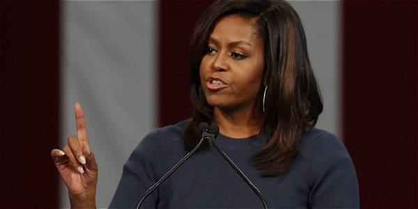 Michelle Obama rechaza maltrato de Trump hacia las mujeres