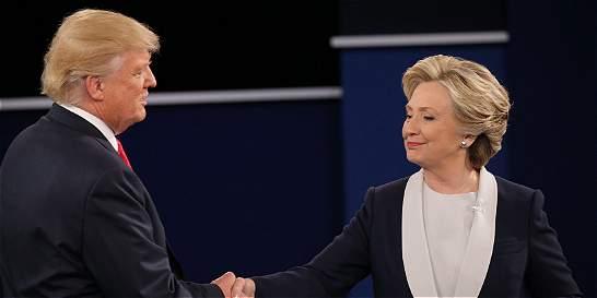 El último y definitivo cara a cara entre Trump y Clinton