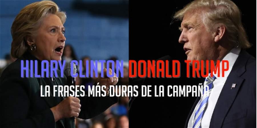 Las frases más duras de la campaña electoral en Estados Unidos