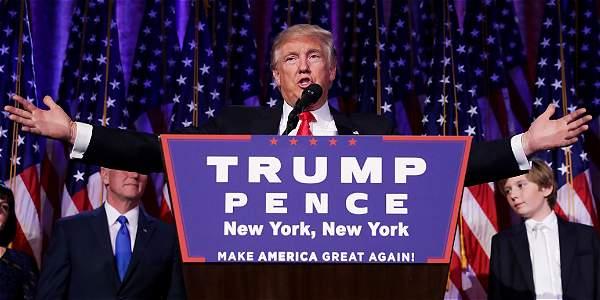 ¿Cuál es la trayectoria del nuevo presidente de Estados Unidos?