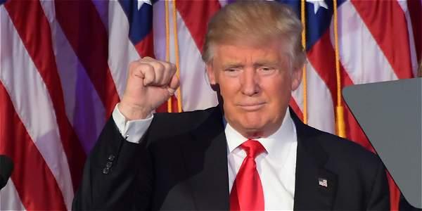 Trump pronuncia su discurso de victoria tras las elecciones estadounidenses