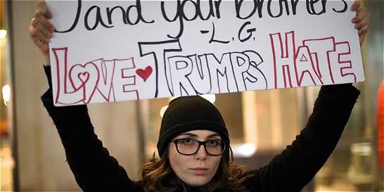 Nueva protesta en apoyo a 'insultados por Trump' en Nueva York