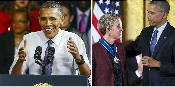 Los conmovedores momentos previos a la salida de Obama